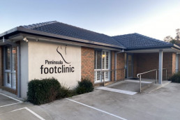 External view of our Mornington Podiatry Clinic